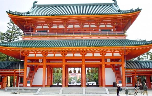 Heian-temple