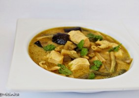 Curry verde thailandez