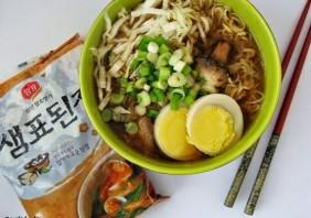 Supa ramen cu miso