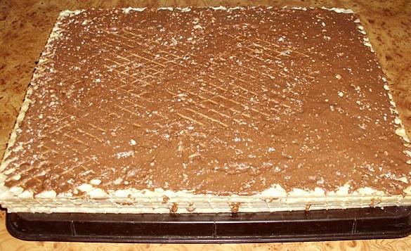 Napolitana cu ciocolata de casa