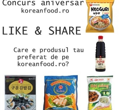 Concurs Koreanfood.ro