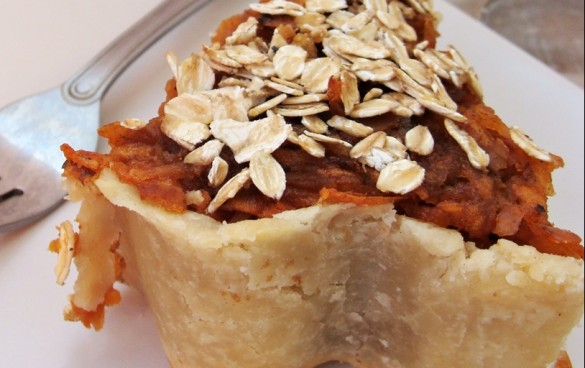 Grated Apple Pie