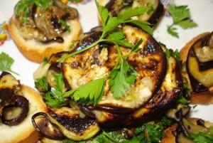 salata de vinete iute cu usturoi