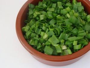 Placinta chinezeasca cu ceapa verde