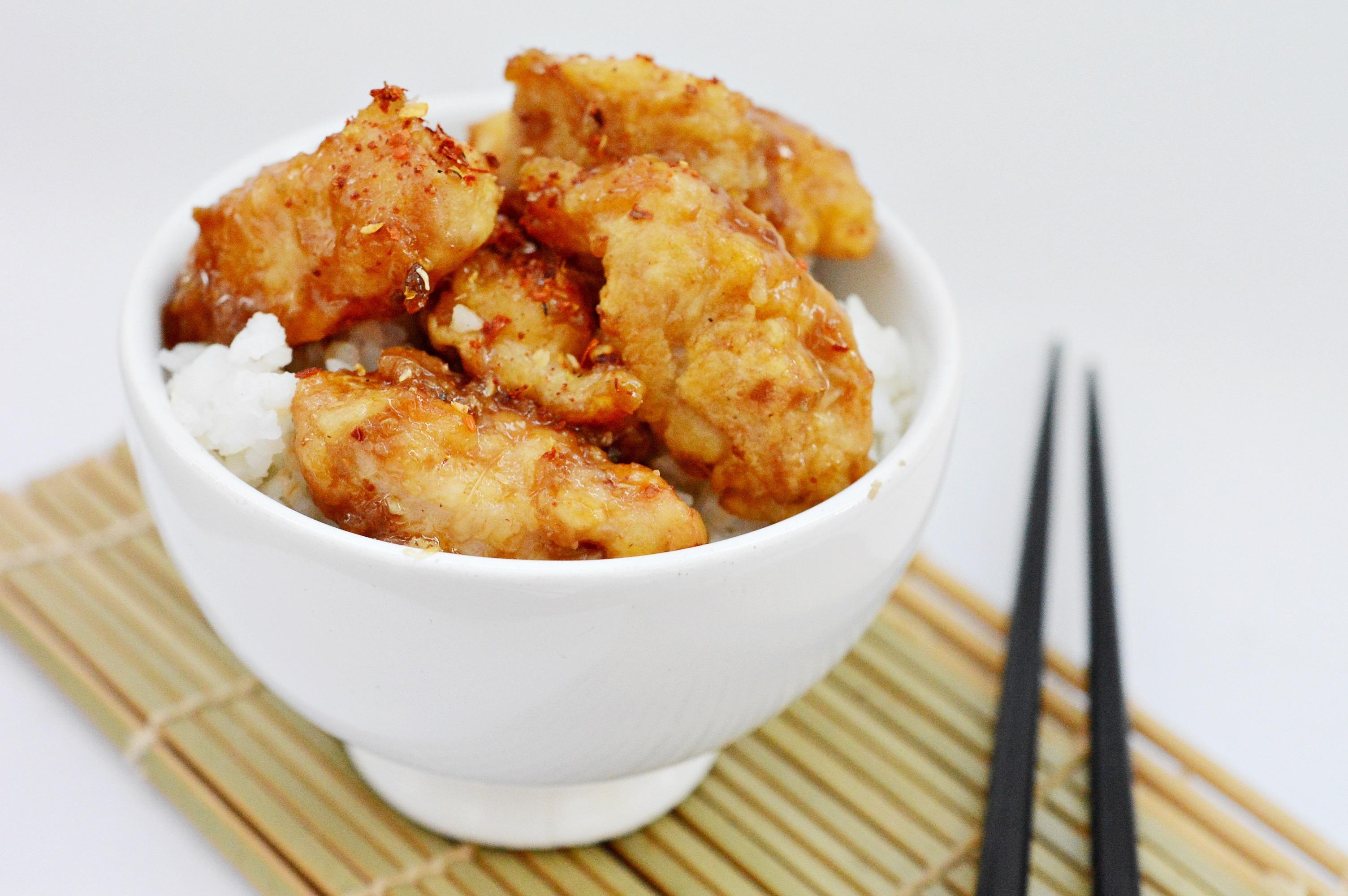 pui chinezesc cu usturoi si ghimbir