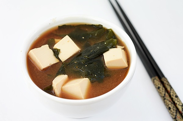 supa miso cu tofu