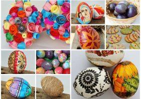 Idei creative pentru oua de Pasti