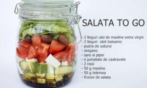 4 retete de salata de legume