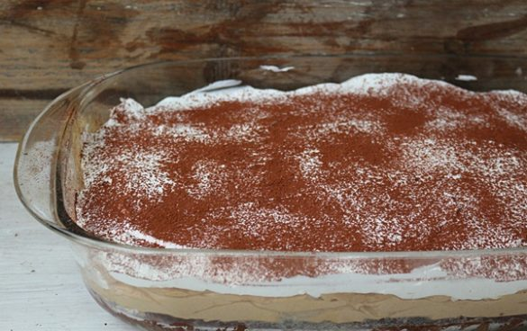 prajitura rapida cu crema si frisca