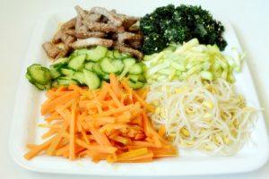 Bibimbap orez in stil coreean045