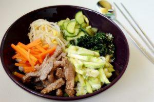 Bibimbap orez in stil coreean050