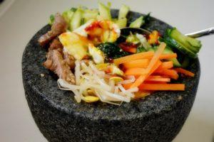 Bibimbap orez in stil coreean090