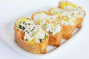 pachetele de tofu umplute cu orez