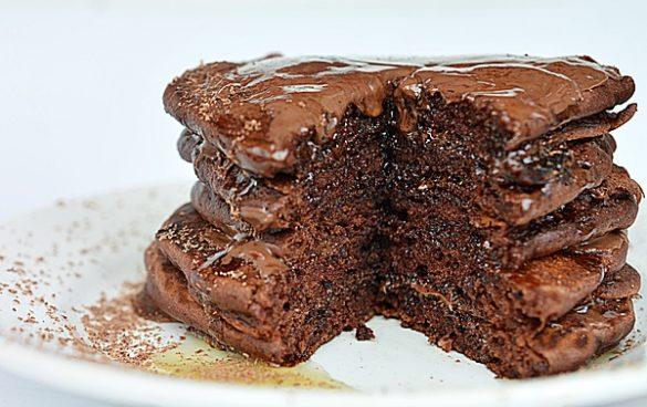 pancakes cu ciocolata
