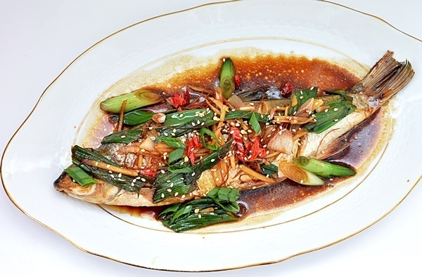 peste la cuptor in stil chinezesc