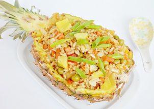 orez prajit cu ananas