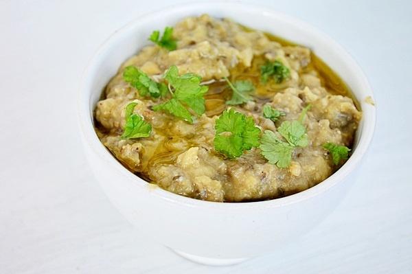 salata de vinete baba ghanoush
