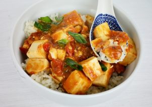 mapo tofu in stil chinezesc