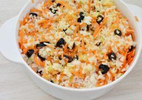 salata de orez cu legume si masline