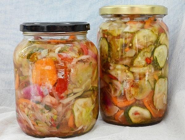 Salata de legume pentru iarna