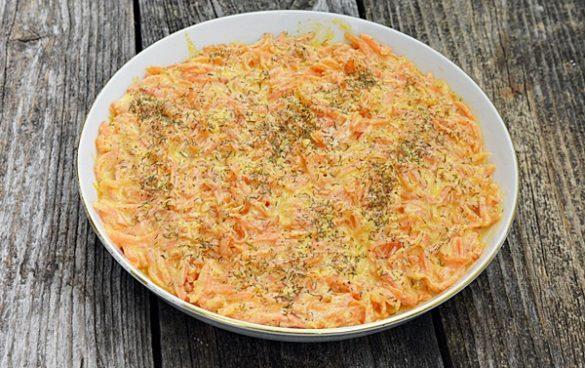 Salata turceasca cu morcovi si iaurt