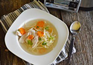 Supa de pui la Crock Pot